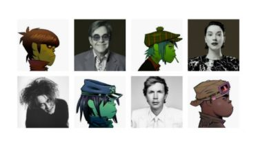Photo of Los colaboradores de Gorillaz
