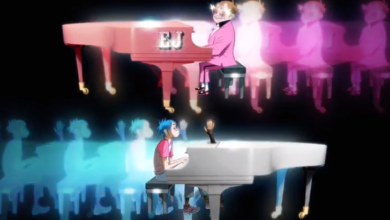 Photo of Gorillaz featuring Elton John & 6LACK — The Pink Phantom